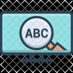 Abc Keyword Icon