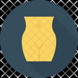 Abdomen Flat Icon