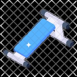 Abdominal Bench Icon