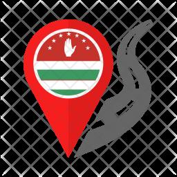 Abkhazia Flag Icon