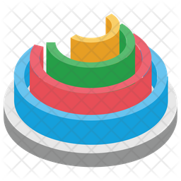 Abstract Pie Icon