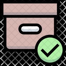 Accept Box Icon