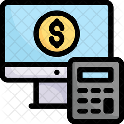 Accounting Colored Outline Icon