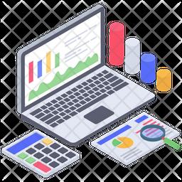 Accounts Monitoring Report Icon