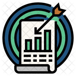 Accuracy Of Statistics Icon