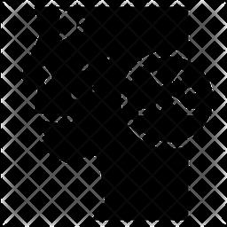 Acne Glyph Icon