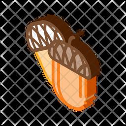 Acorn Nut Icon