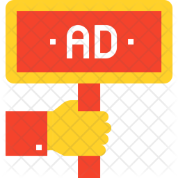 Ad Icon Of Flat Style Available In Svg Png Eps Ai Icon Fonts