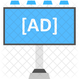 Ad billboard Icon