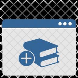 Add books Icon