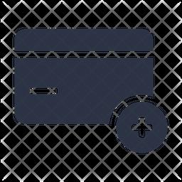 Add Card Glyph Icon