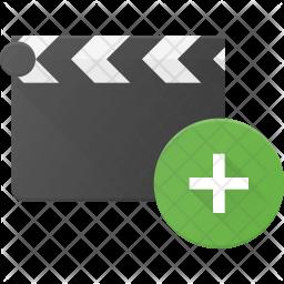 Add Clapper Flat Icon