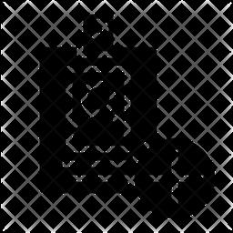Add Identity Glyph Icon