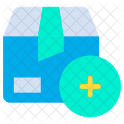 Add Package Flat Icon