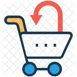 Add to Cart Colored Outline Icon