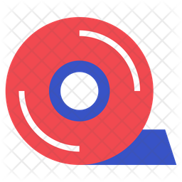 Adhesive Tape Icon