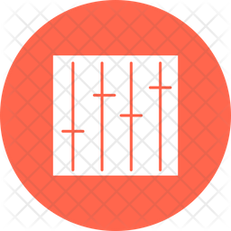 Adjuster Rounded Icon