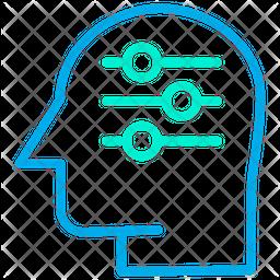 Adjustment Thinking Icon