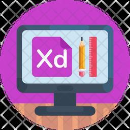 Adobe User Experience Icon