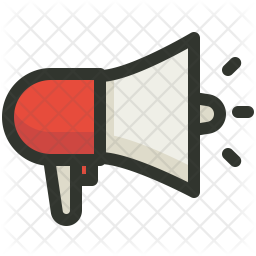 Ads Colored Outline Icon