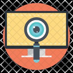 Advance Search Flat Icon