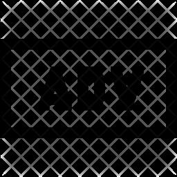 Adverb Icon