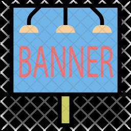 Advertisement banner Icon