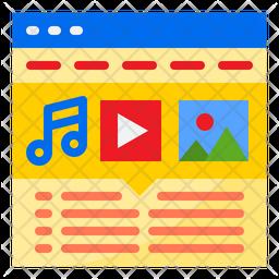 Advertising Media Flat Icon