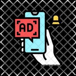 Advertising Notification Icon