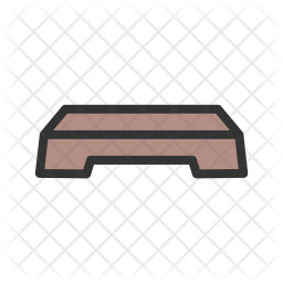 Aerobics stand Icon