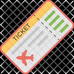 Aeroplane Ticket Icon