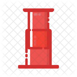 Aeropress Icon Of Colored Outline Style Available In Svg Png Eps Ai Icon Fonts