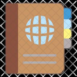 Agenda Flat Icon
