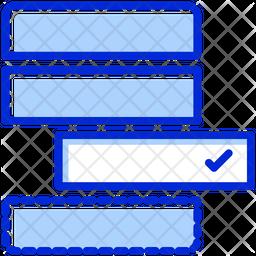 Agile Backlog Colored Outline Icon