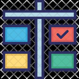 Agile Board Icon