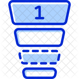 Agile Priority Colored Outline Icon