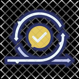 Agile process Icon
