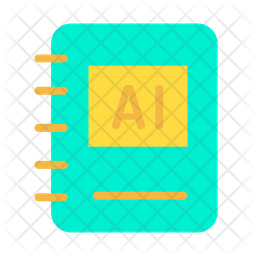 Ai Book Icon