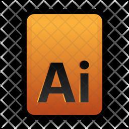Ai file Flat Icon