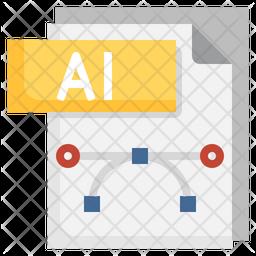 Ai File Icon