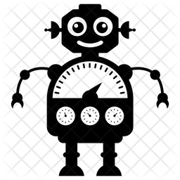 Ai Gauge Glyph Icon