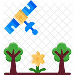 Ai In Agriculture Flat Icon