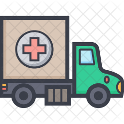 Aid Truck Icon