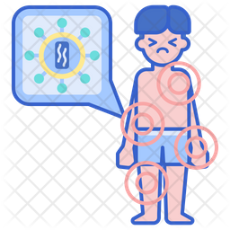 Aids Colored Outline Icon
