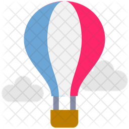 Air Balloon Icon Of Flat Style Available In Svg Png Eps Ai Icon Fonts