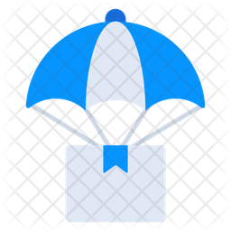 Air Delivery Flat Icon