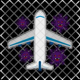 Air Spread Virus Icon