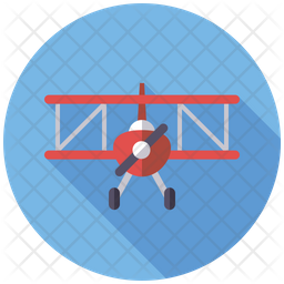 Aircraft Toy Icon