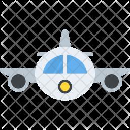 Airplane Flat Icon