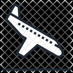 Airplane Landing Icon